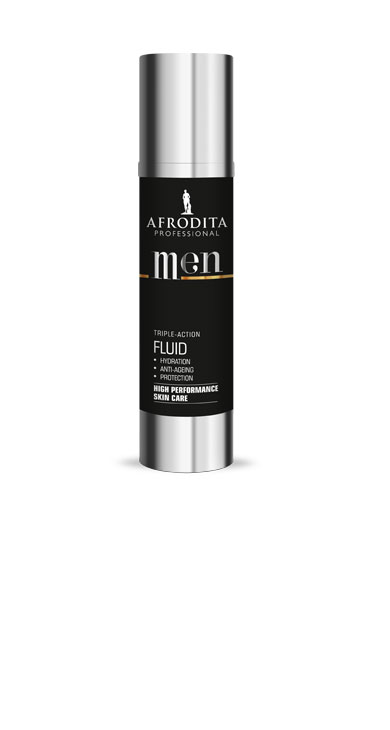 men professional triple action fluid